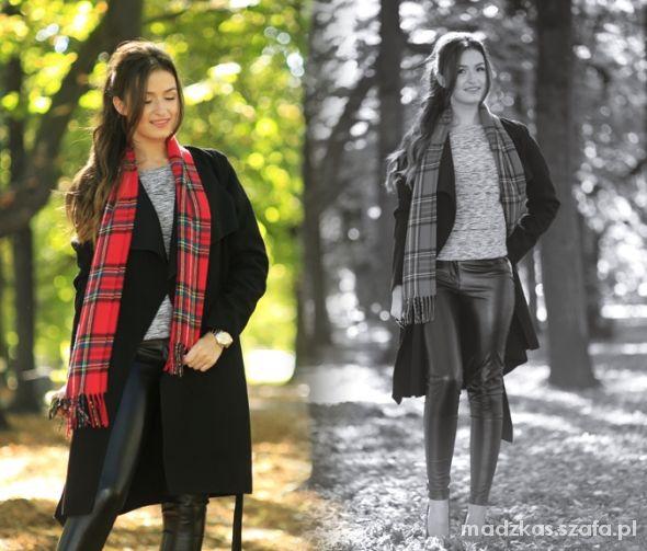 Blogerek Tartan scarf