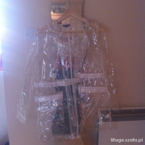 Ubrania Przezroczysty płaszcz przeciwdeszczowy