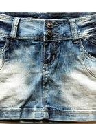 spódniczka jeansowa M
