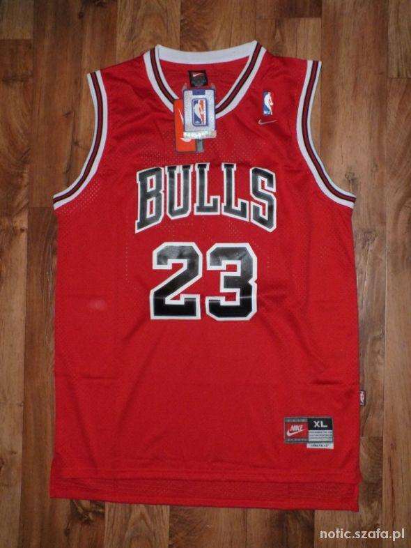 Topnotch Koszulka Michael Jordan Chicago Bulls Nike NBA w Koszulki - Szafa.pl FM66