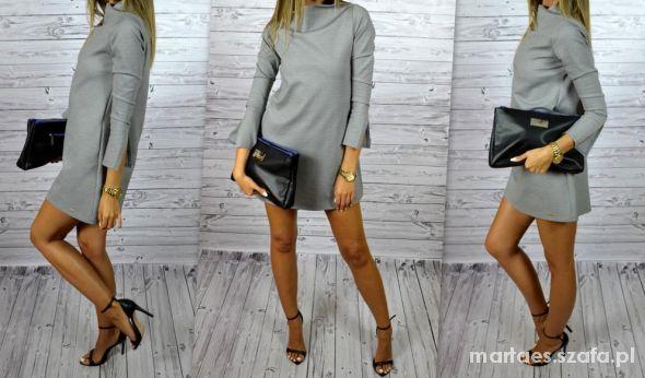 Eleganckie Niezwykle kobieca sukienka mini