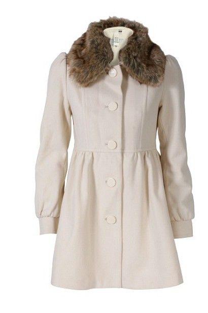 płaszczyk rozkloszowany biały amisu new yorker
