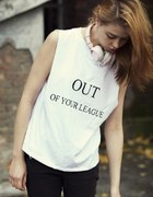 out of your league oversize tshirt