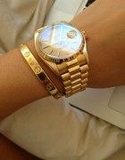 Gold watch piękny zestaw