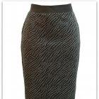 40 42 Wallis ołówkowa spódnica guma cętki