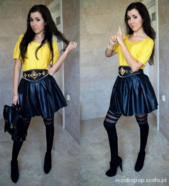 Blogerek YELLOW BLACK