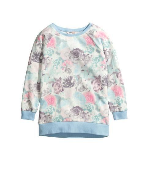 pastelowa bluza...