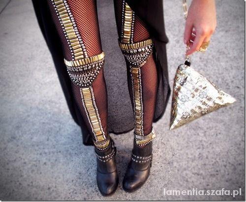 legginsy futurystyczne