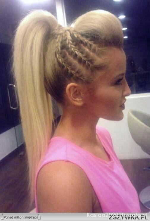 Śliczne wlosy fryzura