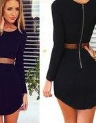 Sukienka czarna MSL