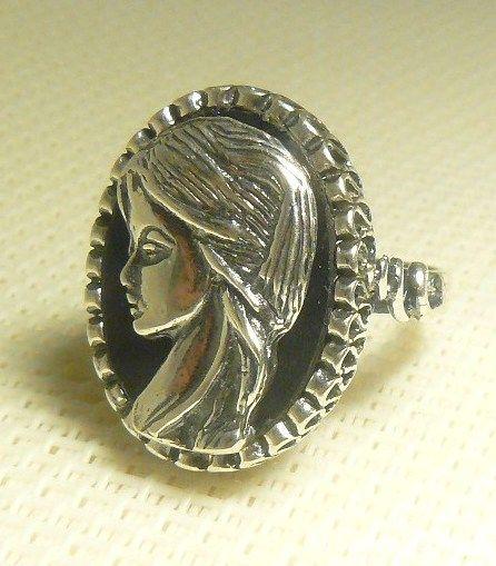 Kamea srebrna pr 925