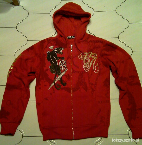 Czerwona bluza L