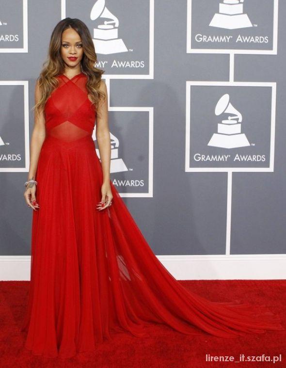 Wasze inspiracje czerwona suknia