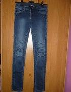 sexy rurki jeans