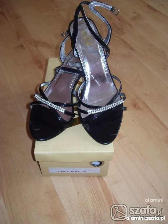 Sandały z cyrkoniami 37