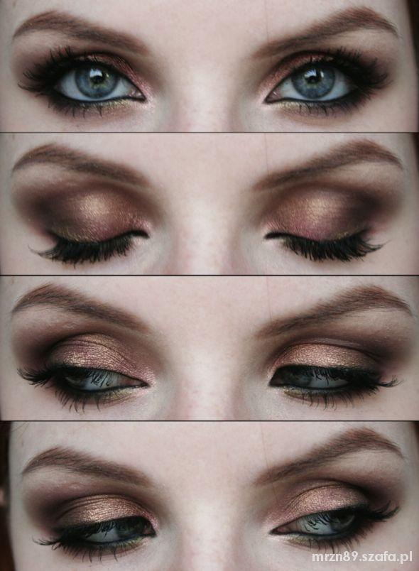 jesienny makijaż 2...