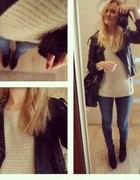 włochaty sweter