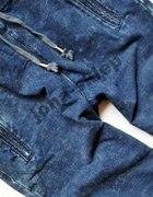 jeansowe spodnie dresowe...