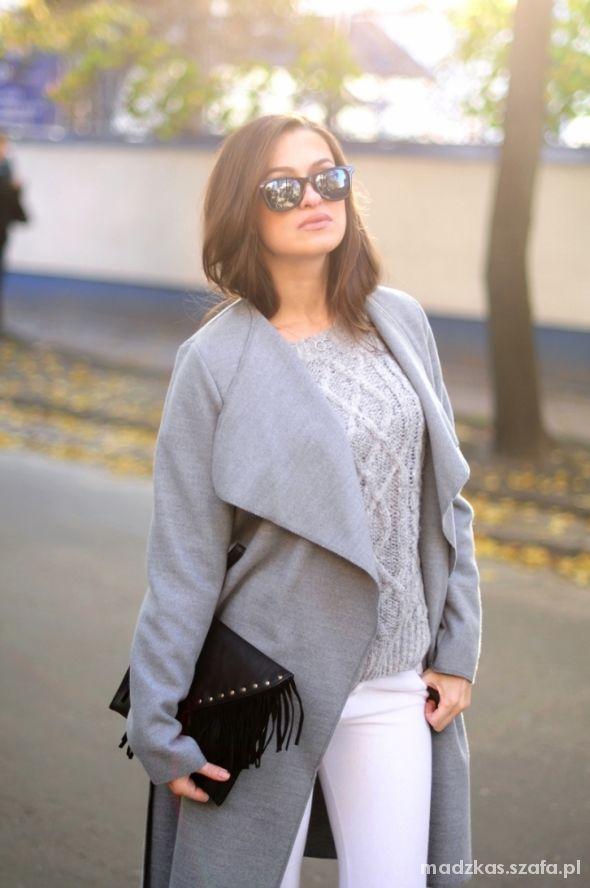 Blogerek Grey coat