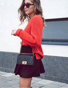 black and orange...