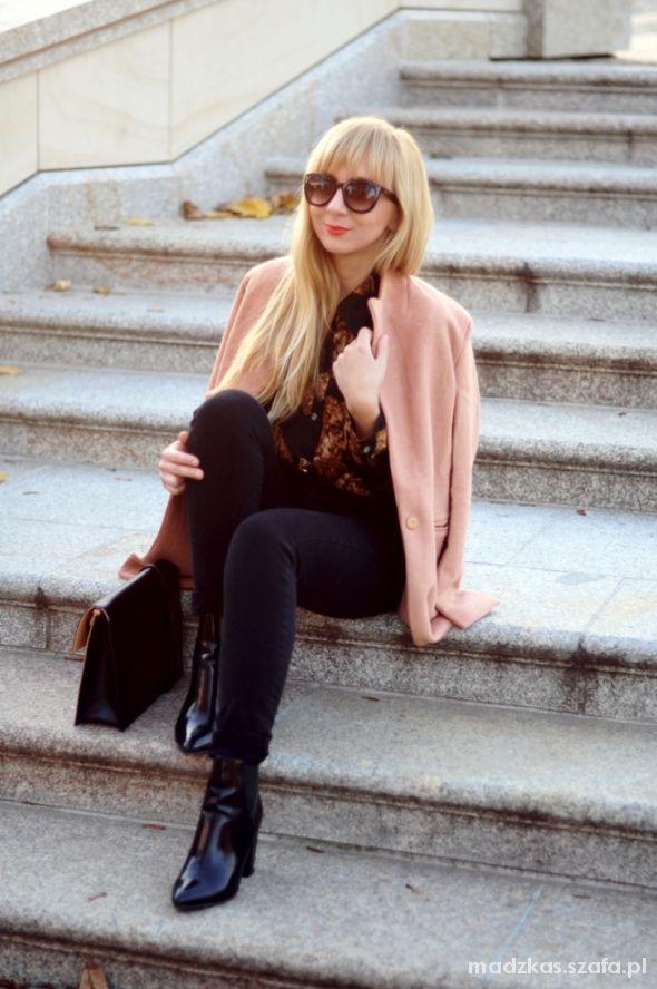 Blogerek Camel Coat
