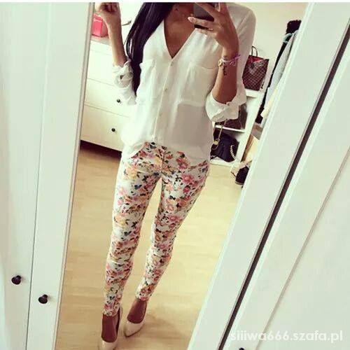 Mój styl white i floral