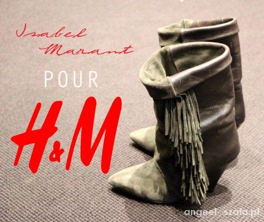 4efa21d2d7bf0 Isabel marant hm buty z frędzlami w Obuwie - Szafa.pl