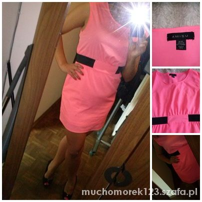 Różowa sukienka firmy NY