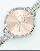 CK calvin klein zegarek jasny róż