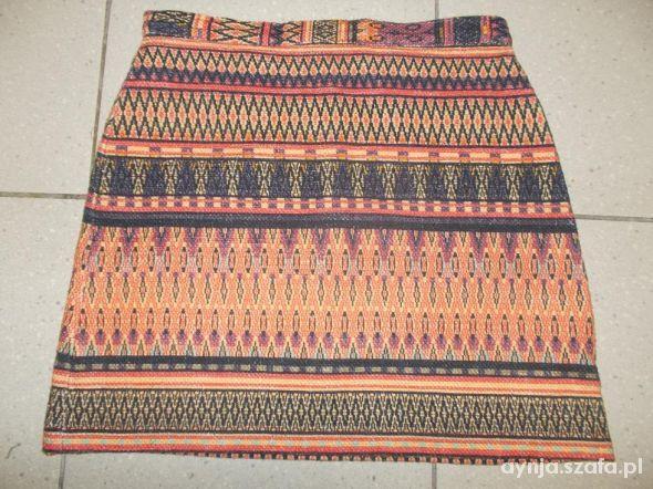 Spódnice Spódnica mini aztec topshop