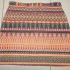 Spódnica mini aztec topshop
