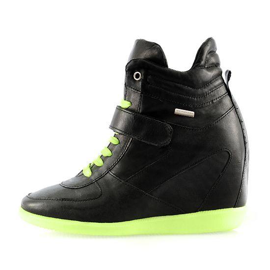 Sneakersy botki Prima Moda fluo kolorowa podeszwa...