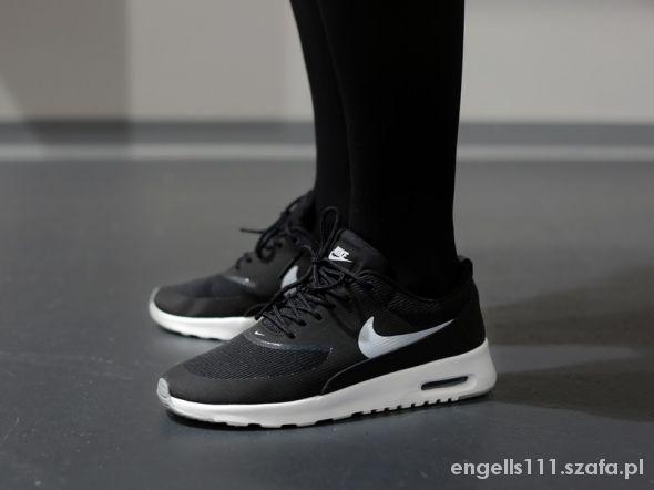 buty nike air max thea czarne