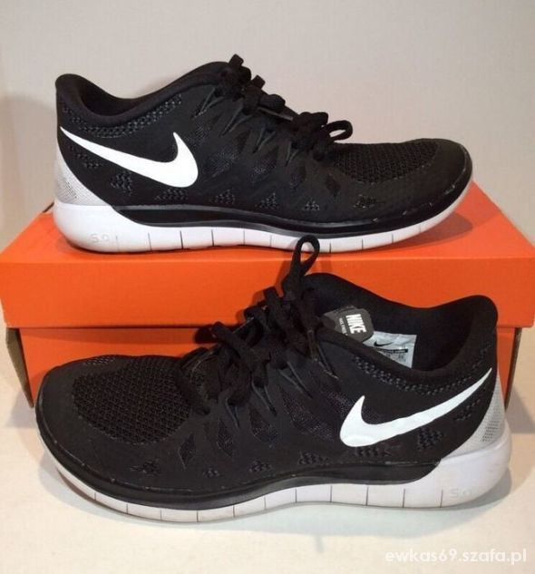 buty nike free run white