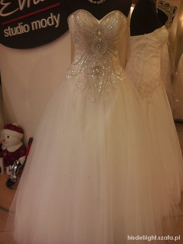 Piękna Suknia ślubna Princess W Suknie ślubne Szafapl