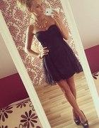 sukienka nowa czarna s