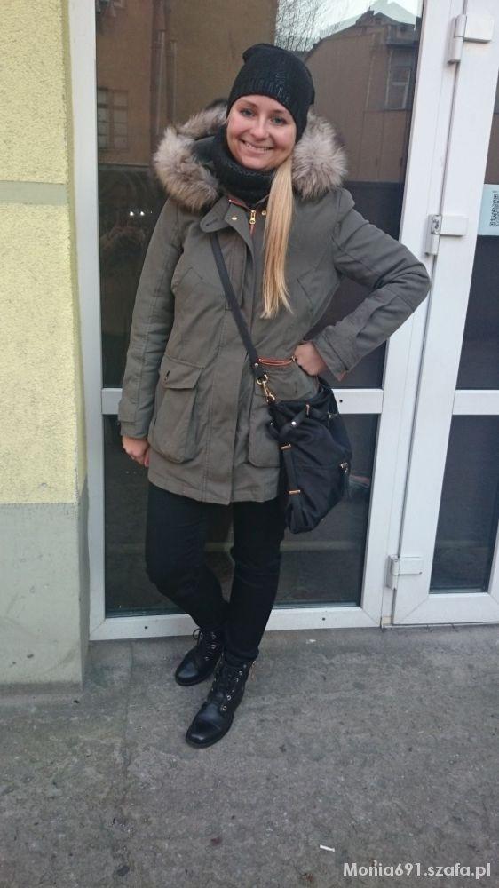 Mój styl Zara parka