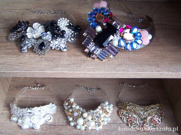 duże naszyjniki Kicz Collection