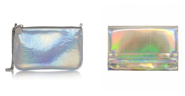 Torebka holograficzna...