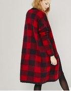 Sweter damski w kratę Reserved