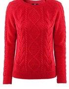 Sweter czerwony hm 38...