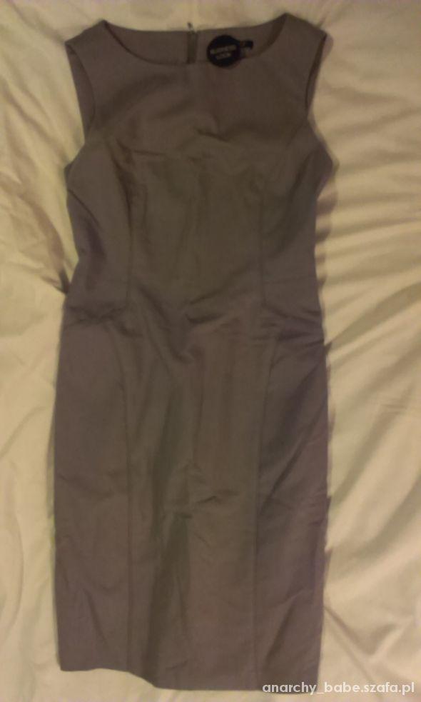 ORSAY elegancka sukienka ołówkowa GRANATOWA...