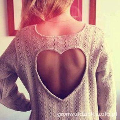 Sweterek serce