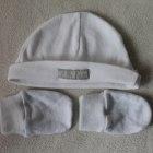 Ciepły sweterek modne spodenki śliczna czapeczka