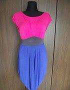 Kolorowa sukienka Dunnes L XL