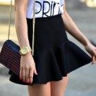 czarna spódnica new yorker 34 xs