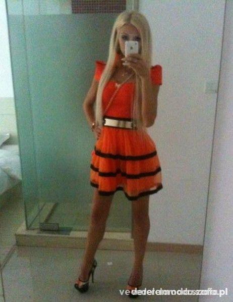 MI orange sukieneczka...