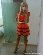 MI orange sukieneczka