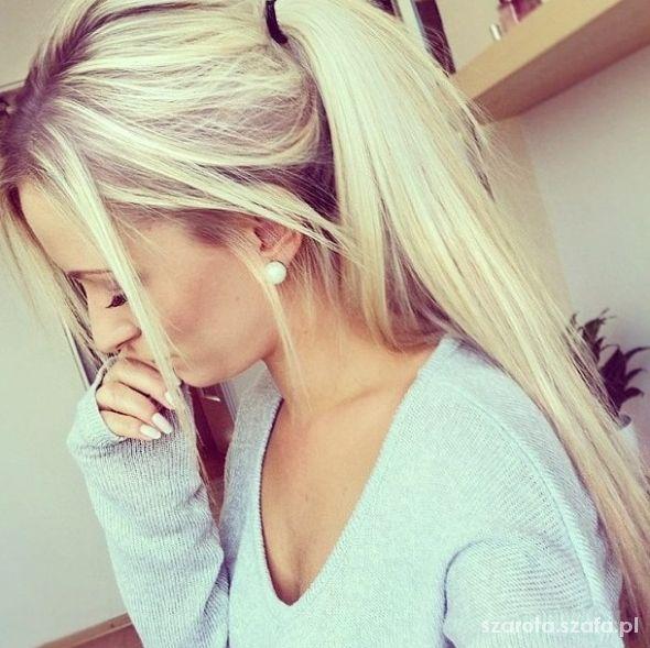 wlosy blond