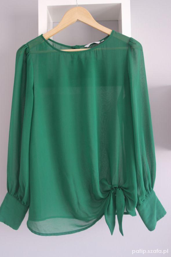 elegancka zielona koszula new look